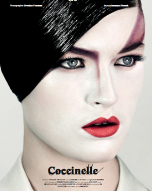 Beauty Shoot Charlie Le Mindu & Isamaya Ffrench
