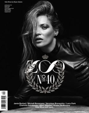 Kate Moss wears Charlie Le Mindu