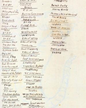 KURT Cobain's Fav Albums !