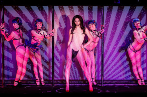 EXCLUSIVE. Conchita Wurst premiere at the Crazy Horse in Paris